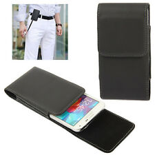 Leather Flip Belt Clip Case Cover Holster For Apple iPhone (7 / 6s / 6) Plus 5.5