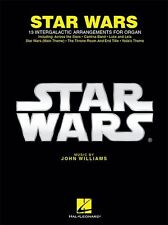 John Williams Star Wars For Organ Keyboard Learn to Play Film Songs Music Book