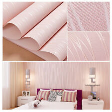 Cute living room bedroom pink wall wallpaper sofa background dampproof