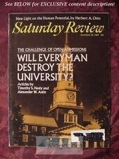 Saturday Review December 20 1969 TIMOTHY HEALY ALEXANDER ASTIN HERBERT A. OTTO