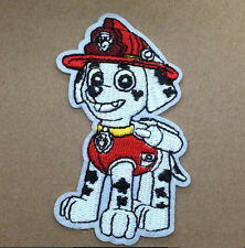 Cute cartoon Paw Patrol Marshall Embroidered Iron On/Sew On Patch