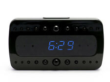 1080P HD Hidden WiFi Spy Nanny Alarm Clock Camera