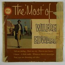 """Wilfred Jackie Edwards """"The Most of..."""" Reggae LP Beverley's"""