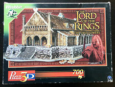 Wrebbit Puzz-3D Lord of the Rings LOTR Golden Hall Edora Puzzle Two Towers 04622