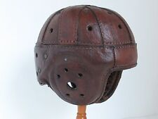 Antique 1930's Leather Football Helmet Spalding ?