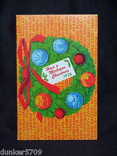 HAVE A MICHIGAN CHRISTMAS 1976 COOK BOOKLET MICHIGAN CONSOLIDATED GAS COMPANY