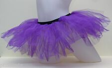 Ballet style Tutu Purple Kids fancy dress cyber rave or hen party