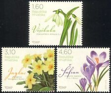 Croatia 2012 Crocus/Snowdrop/Primrose/Flowers/Plants/Nature 3v set (n44792)