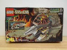 Lego 4940 Granite Grinder Sealed Unopened