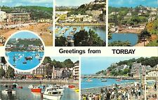 B104251 greetings from torbay ship bateaux    uk