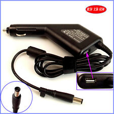 Laptop Car DC Adapter Charger + USB for HP G60-125NR G60-126CA G60-630US