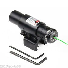 Tactical Universal Green Laser Sight w/clipper Mount Fit For Gun Airsoft Rilfe