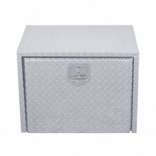 "24"" Aluminum Diamond Tool/Step Saddle Box with Lock and Keys"