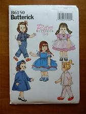 "BUTTERICK PATTERN B6150  FOR AMERICAN GIRL OR 18"" DOLL"