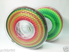 GO-3D Print Multi Color Gradient 3D Printing PLA Filament (2pcs) 1.75mm 500g)