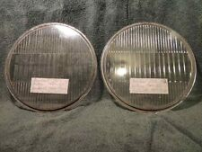 1929-30 Pontiac, 1929 Peerless, 1929-30 Kenworth, Pair Headlight Lens antique #5