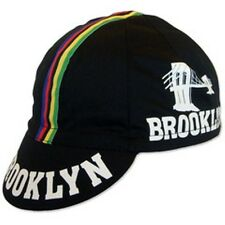 BROOKLYN WCS RETRO CYCLING TEAM CAP - VINTAGE - Black World Champion Stripe