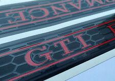 Waben Folien Einstiegsleisten Golf 7 GTI Performance 2 und 4 Türer