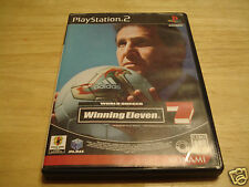 WINNING ELEVEN-7 WORLD SOCCER USED PLAYSTATION 2 - PS2 (NTSC-J) JAPAN IMPORT!