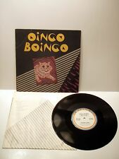 Vintage Oingo Boingo Vinyl Record Abstract Cat