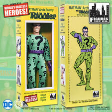Official DC Comics The Riddler 8 inch Action Figure in Mego Style Retro Box