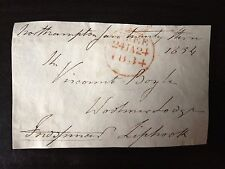 4th EARL FREDERICK SPENCER - M.P. & NAVAL VICE ADMIRAL - SIGNED ENVELOPE FRONT