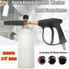 "High Pressure Washer Gun Jet 1/4"" Snow Foam Lance Cannon Car Clean Washer Bottle"