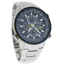 Citizen Mens Blue Angels Skyhawk Radio Controlled Eco-Drive Watch AT8020-54L
