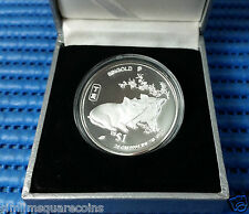 2007 Singapore Lunar Year of the Boar Singold 20 gm 999 Fine Silver US$1 Coin