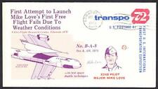 X-24B AIRCRAFT JOINT USAF NASA FLIGHT TEST  B-A-8 1973 Space Cover