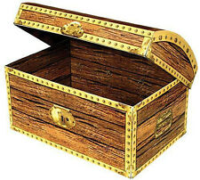 Treasure Chest looks like a real treasure chest. 8 inch long x 5 wide party favo