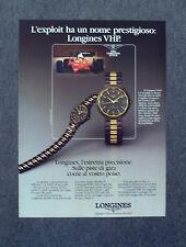 G069-Advertising Pubblicità-1984 - LONGINES CONQUEST VHP