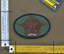 "Ricamata / Embroidered Patch Italian SF ""Corsari"" with VELCRO® brand hook"