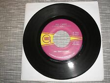 THE TEMPTATIONS / All I Need - Sorry Is A Sorry Word / / / GORDY 45rpm Record