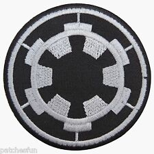 Star Wars Imperial Forces COG TIE Fighter Pilot Embroidered Iron on Patch #1392