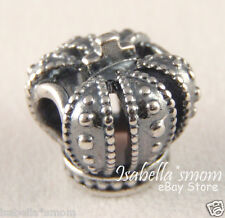 ROYAL CROWN 100% Authentic PANDORA Sterling Silver FAIRY TALE Charm/Bead NEW