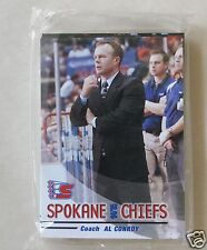 04/05 SPOKANE CHIEFS JUNIOR HOCKEY TEAM SET     27 CARD SET FACTORY SEALED