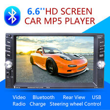 New 7 Inch Touch Screen Car Bluetooth FM MP5 Slot Aux Input DVD Player B8