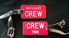 NATIONAIR CANADA AIRLINE CREW TAG YMX MIRABEL