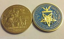 65 Infantry BORINQUENEERS 2015 MEDAL of HONOR Tribute KOREA WAR coin PUERTO RICO