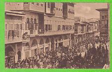 SYRIE - ALEP - Rue Kandhak - Manifstation de Joie à l'Occasion de la Libération