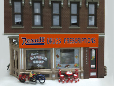 REXALL DRUGS ANIMATED NEON BUILDING SIGN BY MILLER ENG- IDEAL FOR HO-SCALE!
