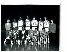 1972 ABA EAST ALL STAR  8X10 TEAM  PHOTO  BASKETBALL ERVING BARRY USA