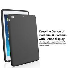 For iPad Mini &iPad Mini 2 w/Retina iPad Mini 3 Display Ultra Soft Silicone Case