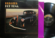 Hot Tuna - Burgers (Grunt FTR 1004) (gatefold cover) (Jorma, Papa John Creach)