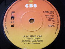 "O. C. SMITH - LA LA PEACE SONG  7"" VINYL"