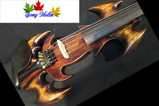 Strong model fancy Song art Crazy-1 streamline 5strings 4/4 electric violin#9571