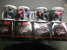 NEW OFFICIAL GENUINE MOTOGP RIDER MUGS  CUP MOTO GP set of four(4)