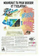 PUBLICITE ADVERTISING 126  1990   Amstrad  micro-ordinateur 6128 plus