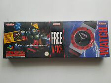 SNES SUPER NINTENDO KILLER INSTINCT WATCH PACK PAL CIB *SEALED*